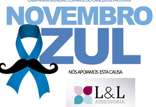 Apoiar a prevenção é responsabilidade social! Novembro Azul: A L&L Assessoria apoia essa causa.