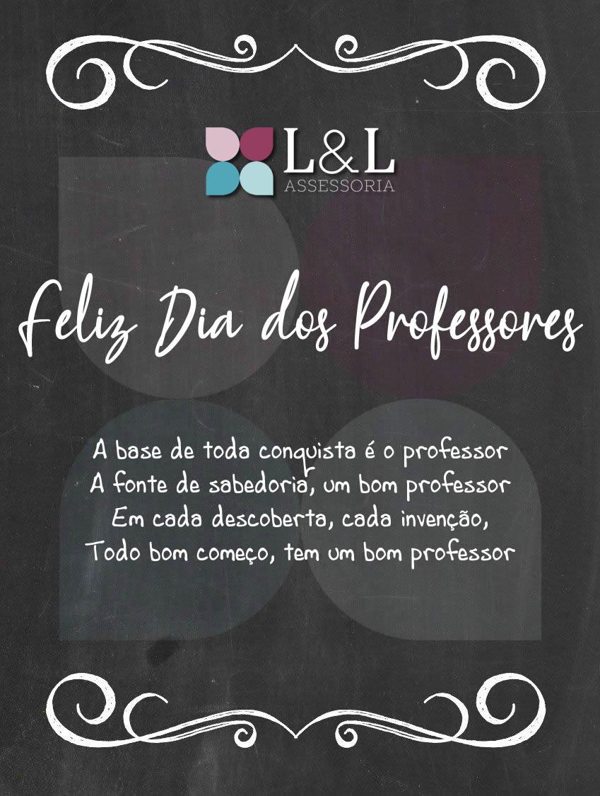 Feliz Dia Dos Professores L L Assessoria